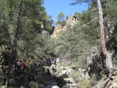 Alto Tajo - Hundido de Armallones, viajes de aventura; clubes de senderismo